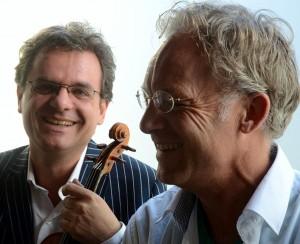 violist Gijs Philip van Schaik en pianist Siebert Nix